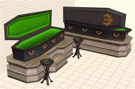coffin beds mod the sims coffin bed recolors