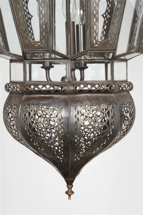 Moroccan Style Light Fixtures Moroccan Vintage Hanging Light Fixture At 1stdibs