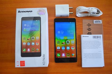 lenovo  note unboxing  hands