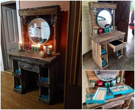 diy makeup vanity plans 10 cool diy makeup vanity table ideas