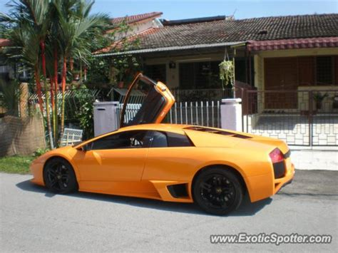 Lamborghini Malaysia Website Lamborghini Murcielago Spotted In Petaling Jaya Malaysia