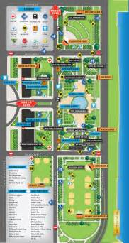 Grant Park Chicago Map by Lollapalooza 2012 Grant Park Chicago Il Fri Sun