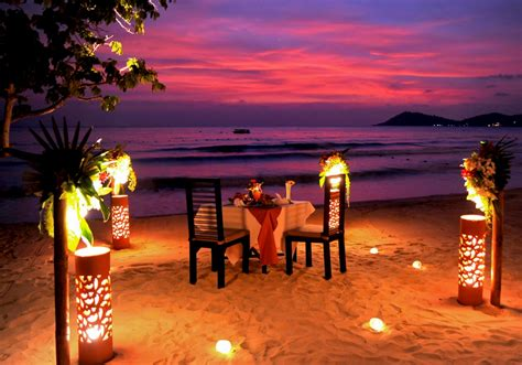 romantic dinner most romantic dinner at beach x large collection life time
