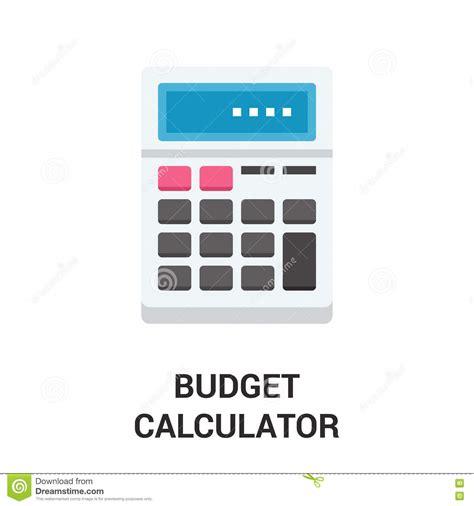 calculator simple budget calculator icon concept stock image image 82395373
