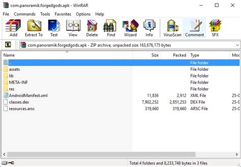 how to open apk how to open an apk file using winrar or 7 zip on windows iandrohacker