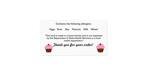 Florida Gift Card Law - texas cottage food law label zazzle