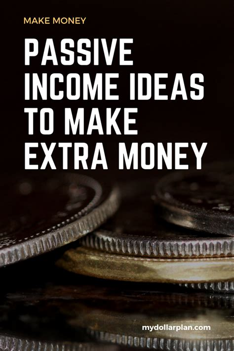 how to make money earning passive income with your spare time from home books 7 passive income ideas to make money