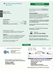 Understanding Your Child S Bill The Children S Hospital