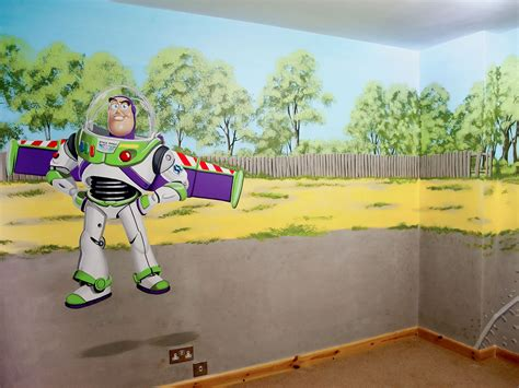 buzz lightyear bedroom buzz lightyear wallpaper mural images