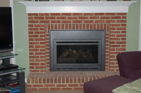 how to paint fireplace brick interior