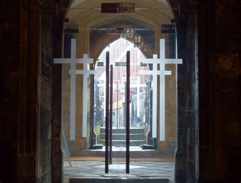 open doors uk news views progress glass doors open up medieval city church the church in wales