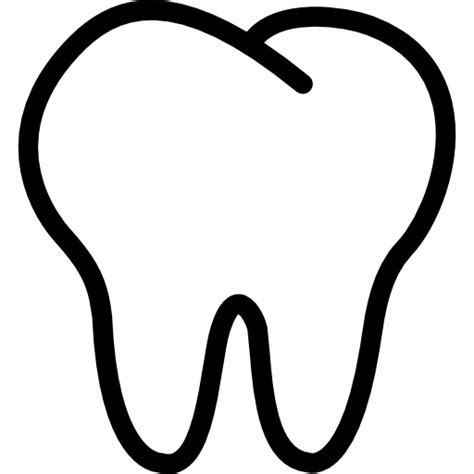 tooth templates free tooth outline free shapes icons