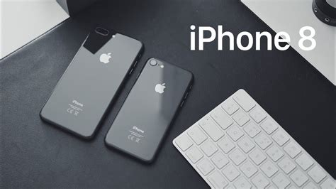 iphone 8 vs iphone 8 plus vs iphone 7 unboxing space gray vs matte black