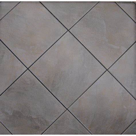 Lowes Floor Tile Shop Style Selections Jackson Ridge Black Glazed Porcelain