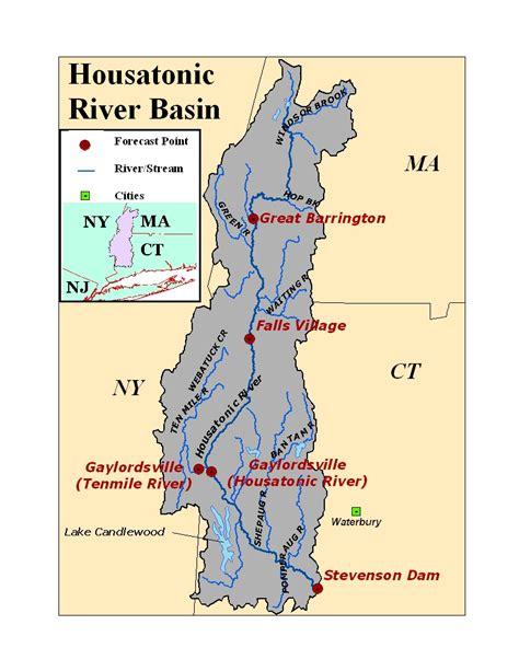 housatonic river map southern new river basin photos