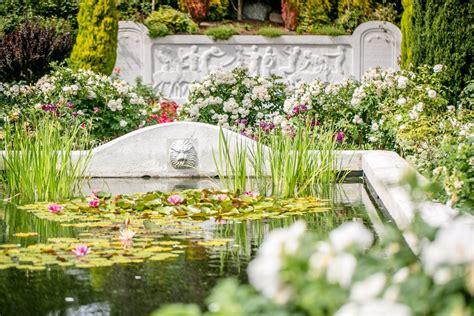 Woodland Park Garden by Seattle Wedding Officiants Seattle Wa Wedding Officiant