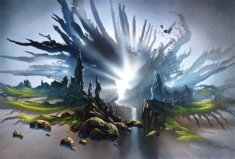mystical images free images landscape rock light atmosphere mystical
