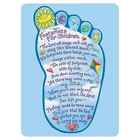 printable children s prayers footprints for children prayer cards pkg of 25 family
