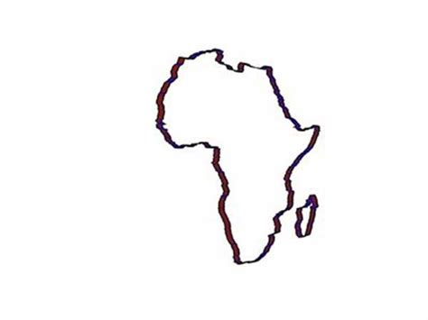 draw an africa map best photos of africa map drawing africa map outline