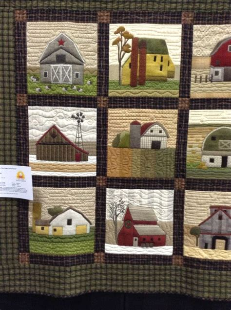 applique country timeless traditions farm house and barn quilt quilting