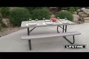 Lifetime 6 Folding Picnic Table Lifetime 174 6 Ft Folding Picnic Table 187 Welcome To Costco Wholesale