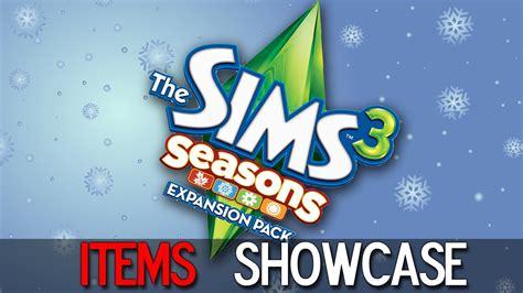 how to uninstall sims 3 seasons the sims 3 seasons all items showcase youtube