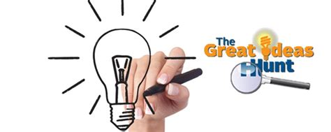great ideas technology led the hunt for ideas