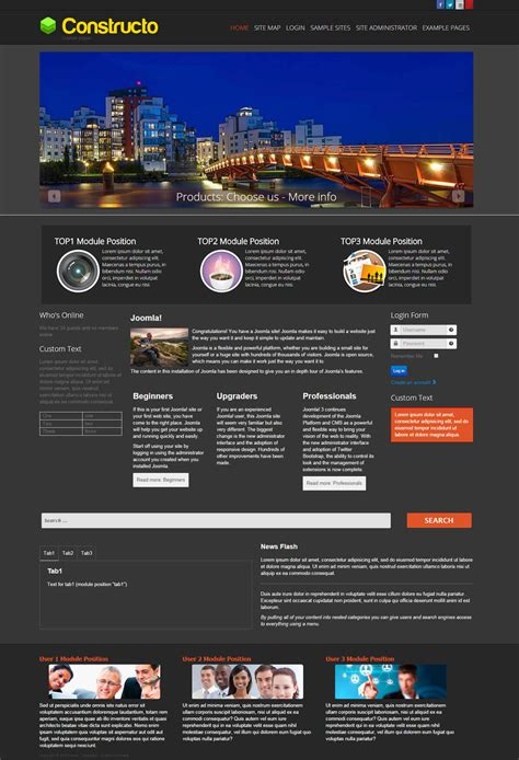 joomla template under construction free constructo dark free construction joomla template