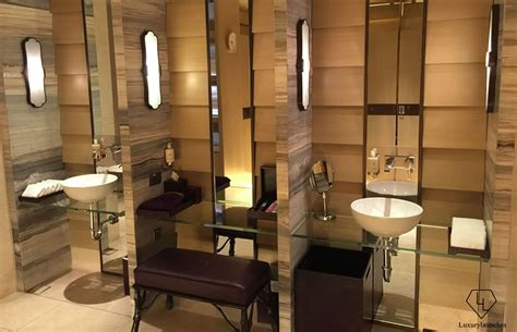 Hotel Bathroom Fixtures Spa At Mandarin Singapore Review