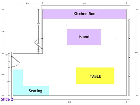 kitchen layout notes independent kitchen design exle project 1