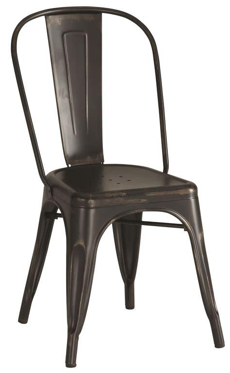 Industrial Metal Chairs by Industrial Metal Chair Black