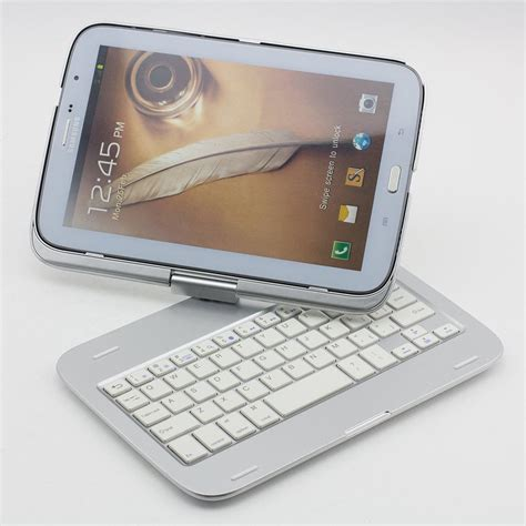 Keyboard Bluetooth Samsung Note 8 Supernight Bluetooth Keyboard Cover Tablet Stand For