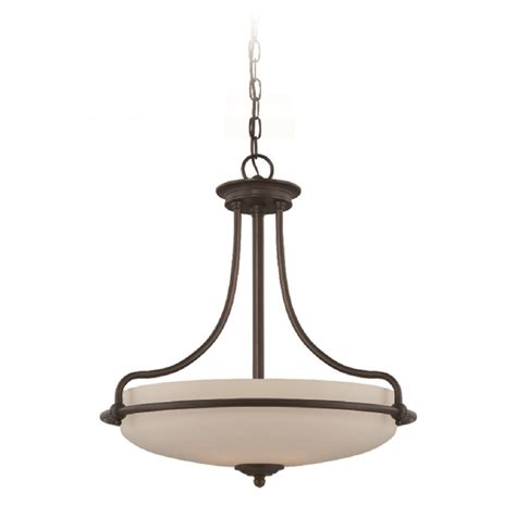 Art Deco Uplighter Ceiling Pendant Light In Bronze Opal Deco Pendant Lighting