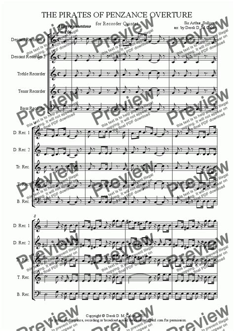 skye boat song descant overture to the pirates of penzance