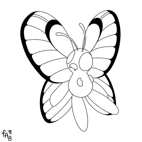 pokemon coloring pages butterfree pokemon butterfree coloring pages images pokemon images