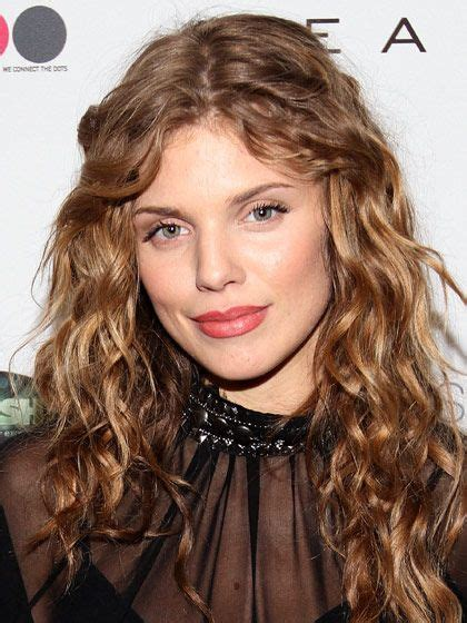 curly hair dry mid forties annalynne mccord long curly layers and curly hair on