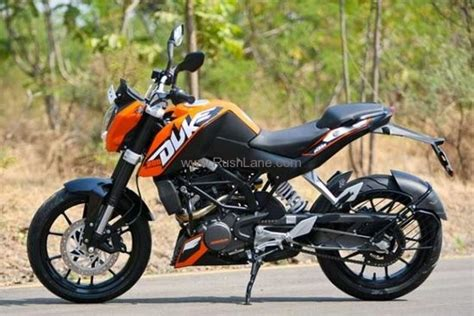 Ktm 200 Duke Price In India Bajaj Ktm Duke 200 Launched India At A Price Of Rs 117 500