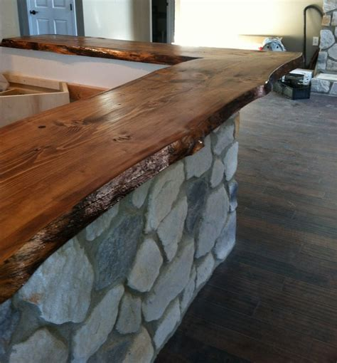 bar top edge live edge bar top modern other metro by