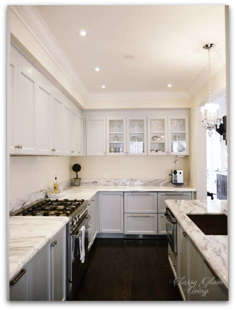 New Kitchen Update   Integrated Hood   Upper Cabinets ? Classy Glam Living