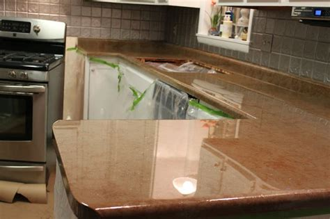 How To Use Rustoleum Countertop Paint by I This Diy Countertop Using Envirotex Lite Sealer Household Helpers Diy