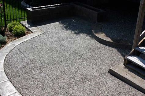 Aggregate Patio by Exposed Aggregate Master Concrete Interlocking Ltd