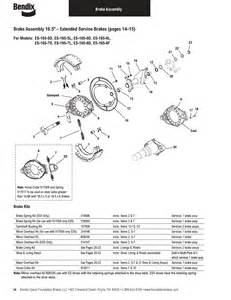 Brake System Components List Bendix Commercial Vehicle Systems Illustrated Parts List