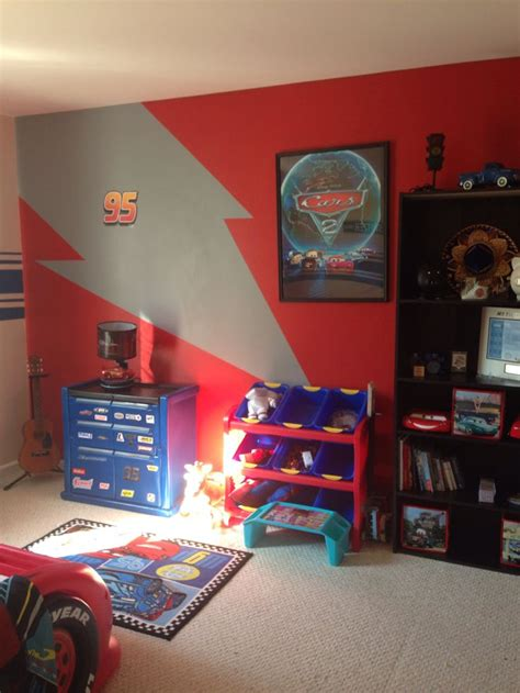 Lighting Mcqueen Bedroom The 25 Best Disney Cars Room Ideas On Cars Bedroom Themes Boys Car Bedroom And