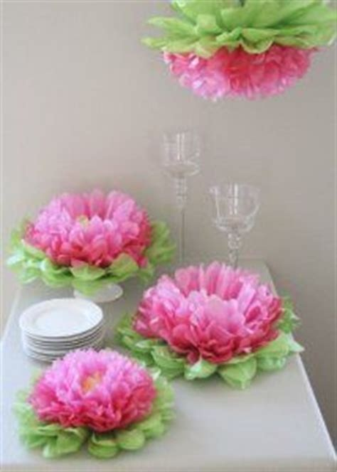 Decorating With Tissue Paper Flowers by 1000 Images About Tissue Paper Things On