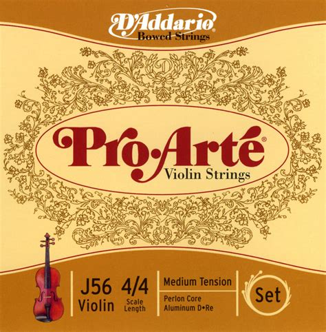 Pro Arte Violin Strings - spotlight reviews violinstringreview