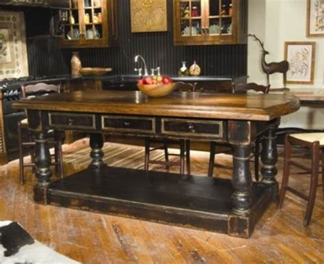 furniture style kitchen islands french country kitchen island ideas the interior design