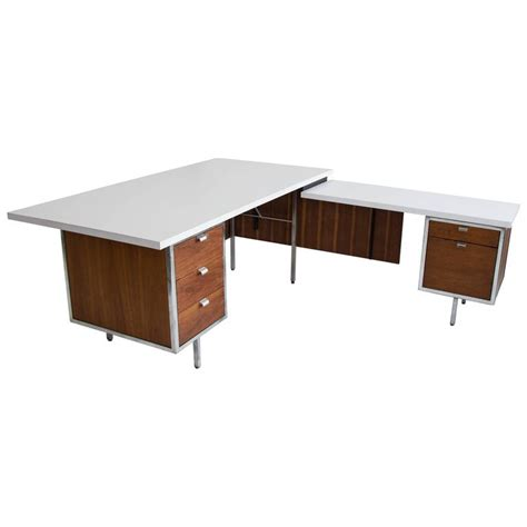 Return Desk by Executive Desk And Return By Robert For Sale At 1stdibs