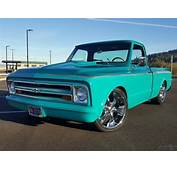 1968 Chevrolet C10 Pickup Two Tone Teal W/ Graphics Gray