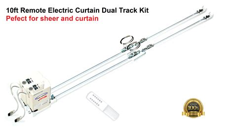remote control curtain system 122 remote control electric double curtain rods cl200t3m