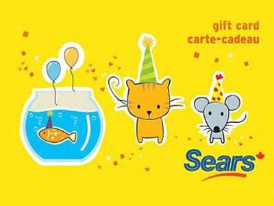 www searsopinion ca sears canada customer experience contest 100 gift cards giveaway - Sears Canada Gift Card